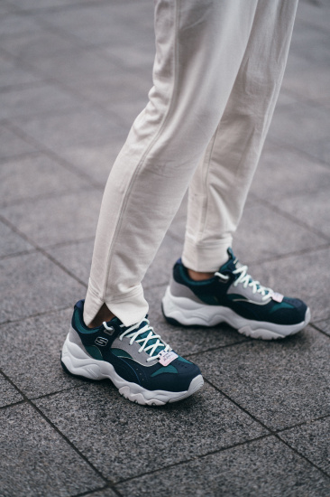 Кросівки fashion Skechers D'Lites 3.0 - Ocean Cloud модель 13377 NVGR — фото 5 - INTERTOP