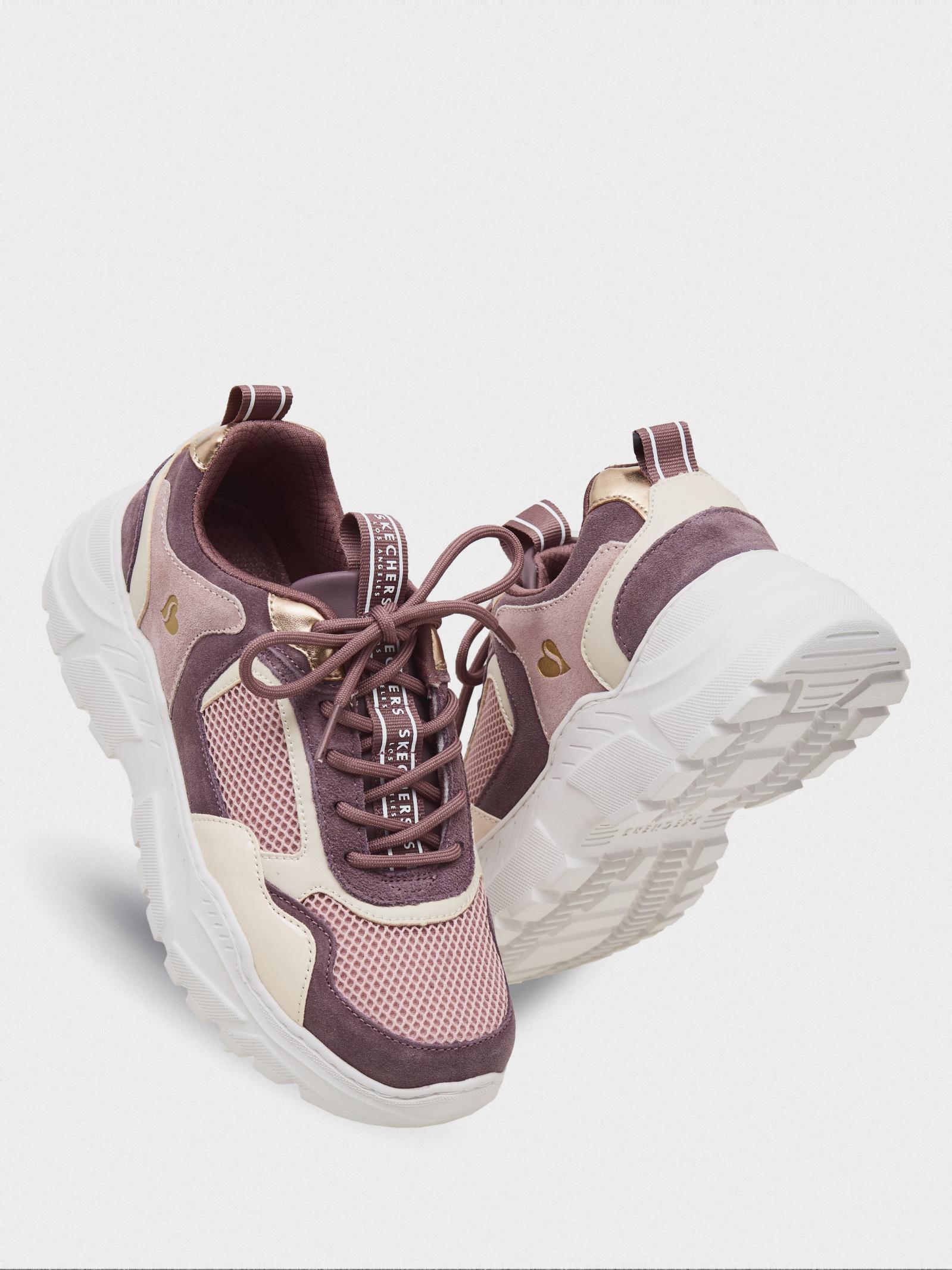 Кроссовки для женщин Skechers KW5198 модная обувь, 2017
