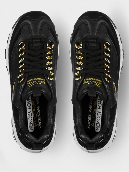 Кросівки fashion Skechers D'Lites - Golden Idea модель 149107 BKGD — фото 3 - INTERTOP