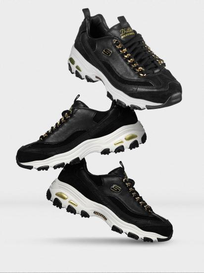 Кросівки fashion Skechers D'Lites - Golden Idea модель 149107 BKGD — фото 5 - INTERTOP