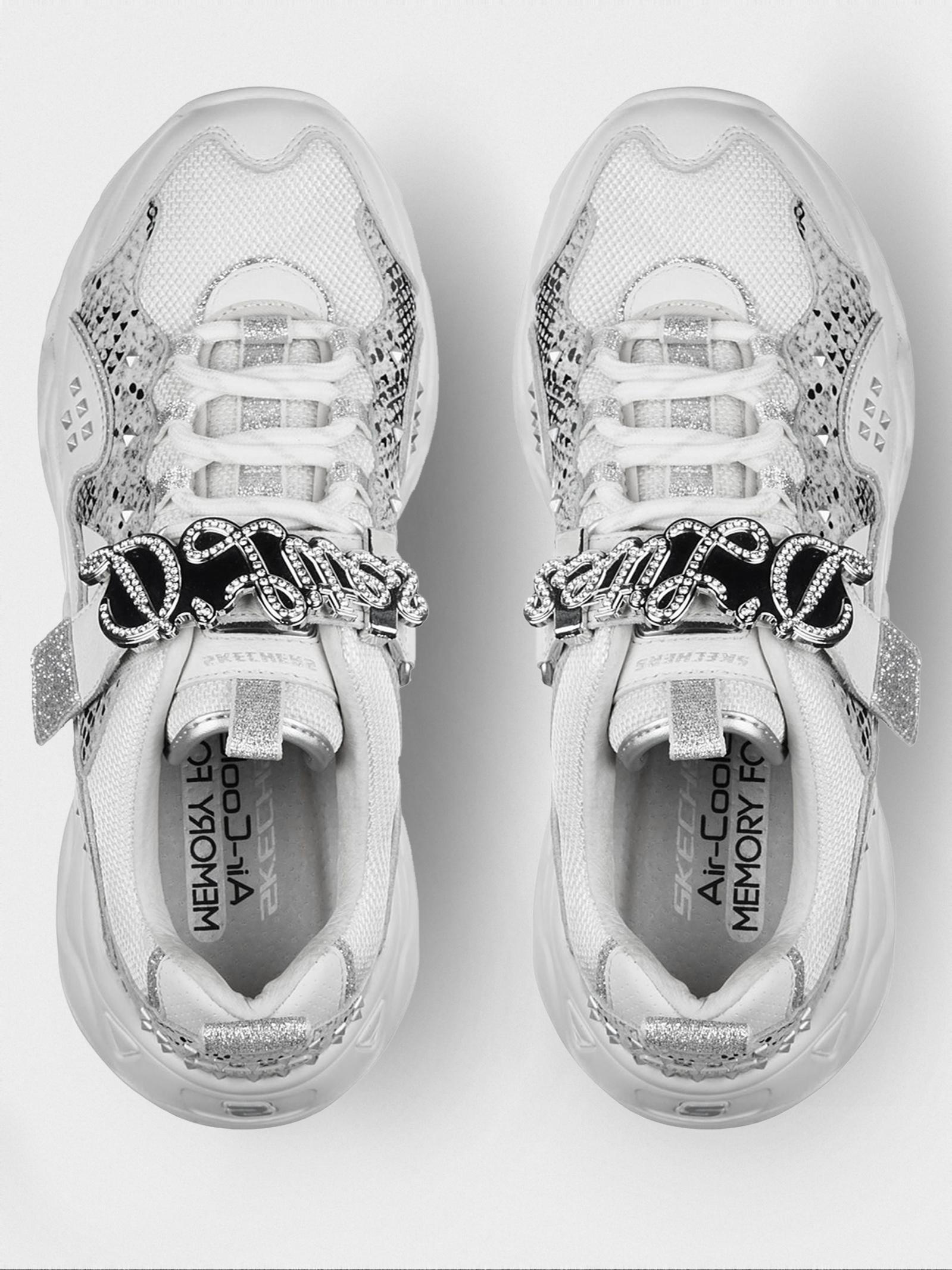 Кроссовки для женщин Skechers D'Lites Heritage KW5348 модная обувь, 2017