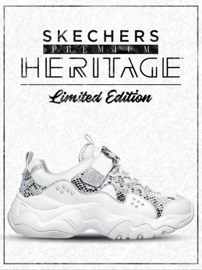 Кроссовки для женщин Skechers D'Lites Heritage KW5348 купить в Интертоп, 2017