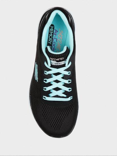 Кросівки для тренувань Skechers MOVING FAST FL модель 13059 BKTQ — фото 9 - INTERTOP
