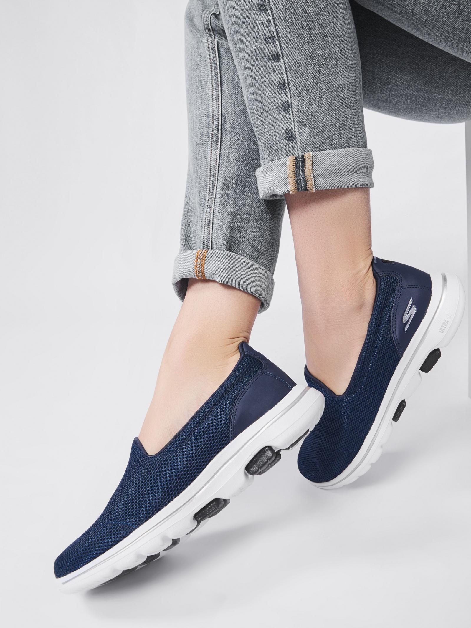 Слипоны женские Skechers KW5418 размеры обуви, 2017