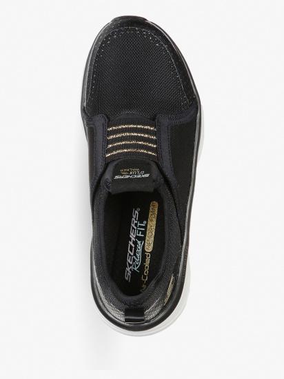 Кросівки для тренувань Skechers Relaxed Fit: D'Lux Walker модель 149013 BKGD — фото 4 - INTERTOP