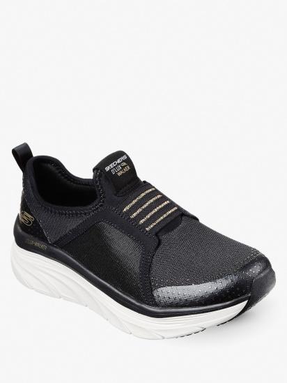 Кросівки для тренувань Skechers Relaxed Fit: D'Lux Walker модель 149013 BKGD — фото 5 - INTERTOP