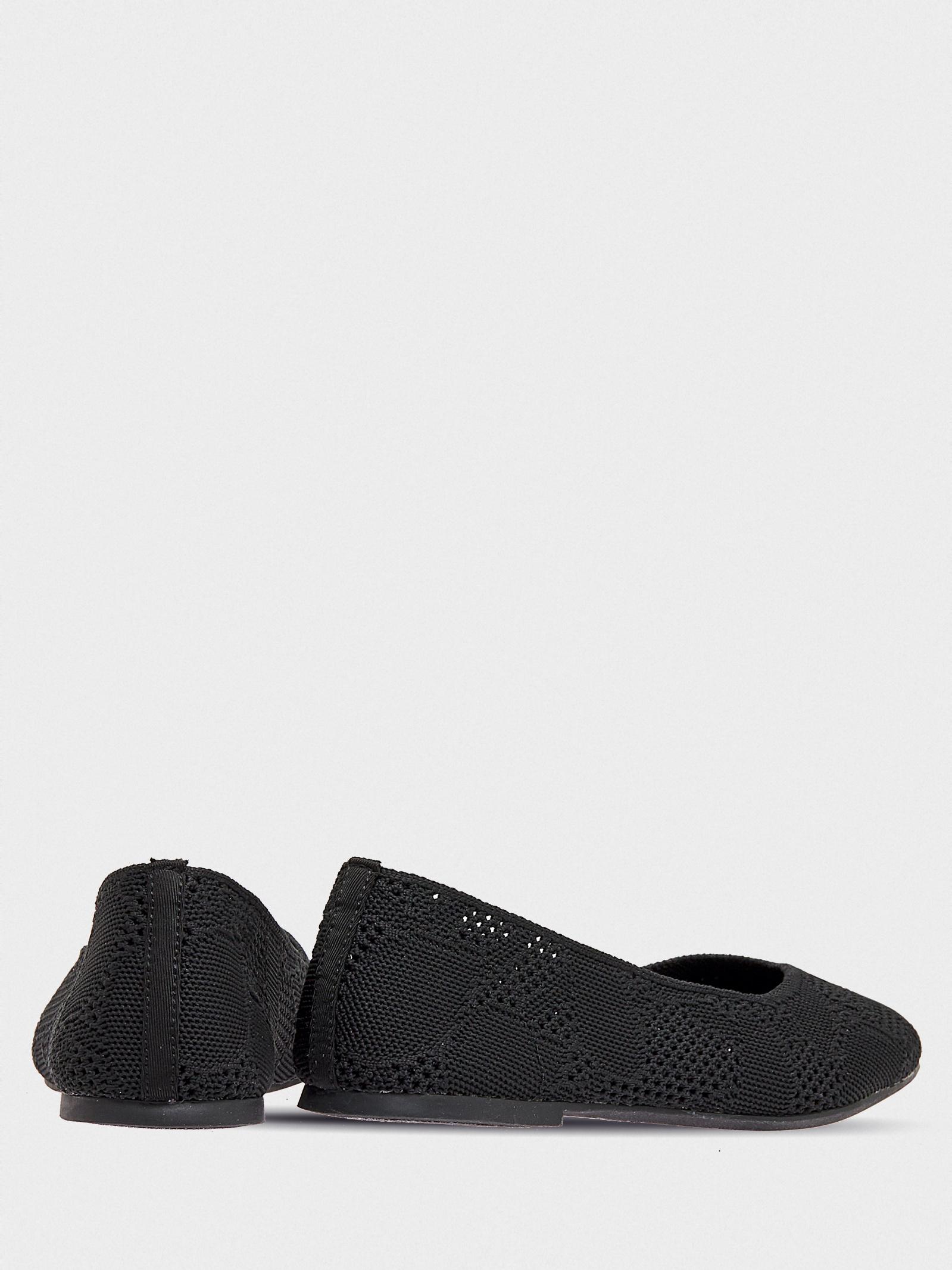 Балетки  для жінок Skechers Modern Comfort 158019 BLK модне взуття, 2017