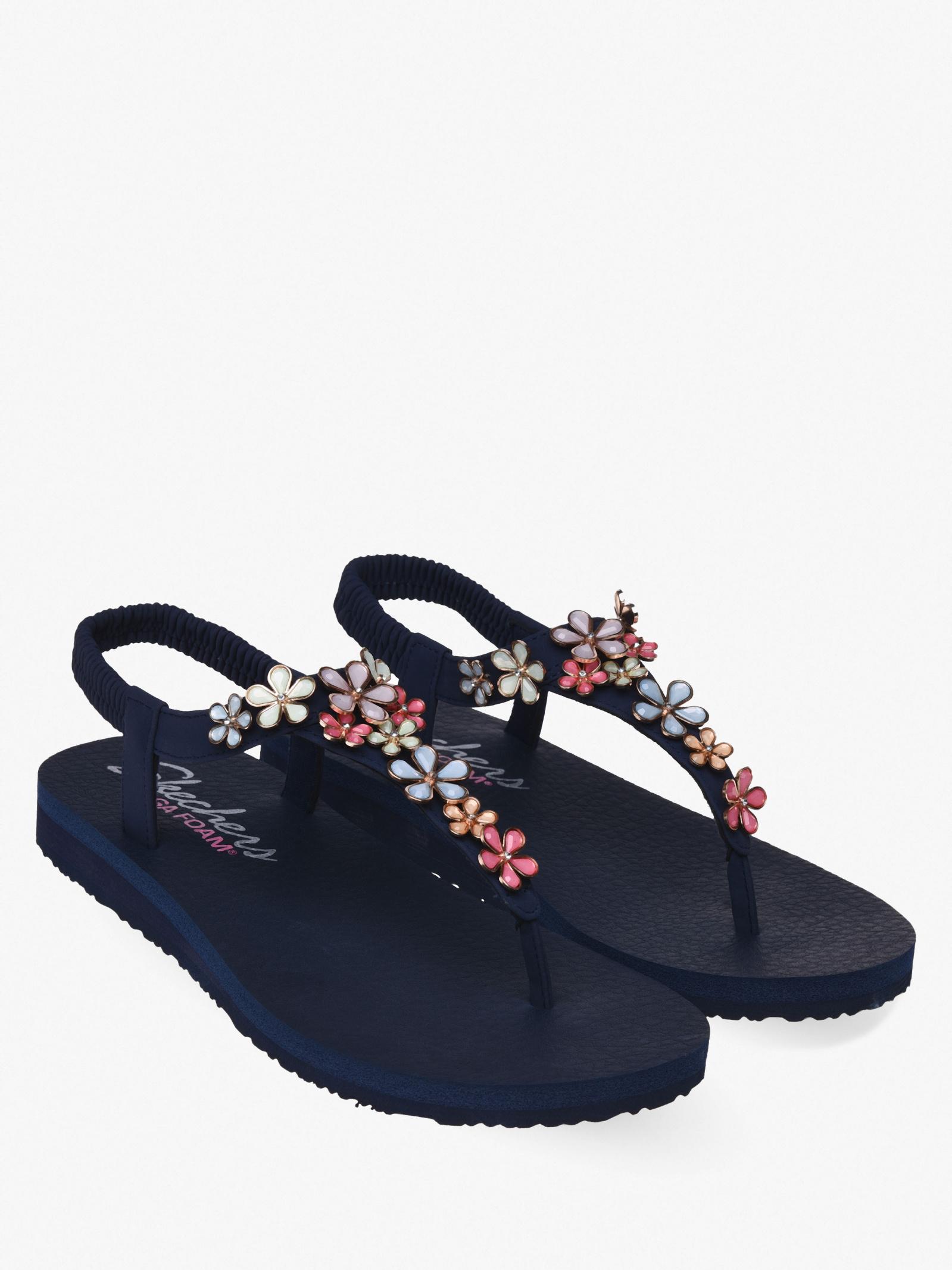 Сандалі  для жінок Skechers 32922 NVMT брендове взуття, 2017