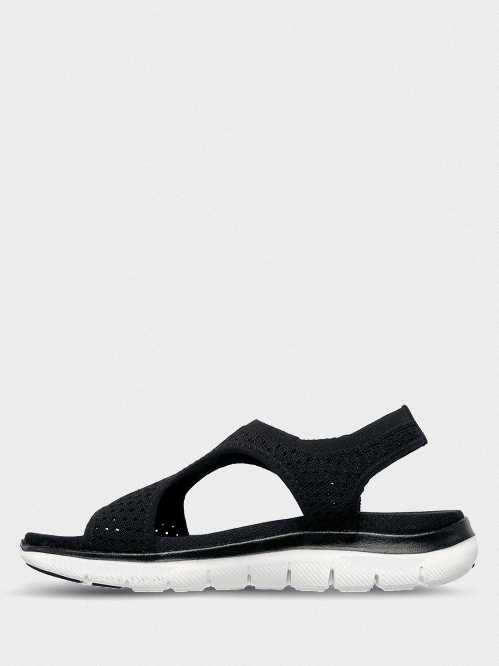 Сандалі  для жінок Skechers 31674 BLK модне взуття, 2017