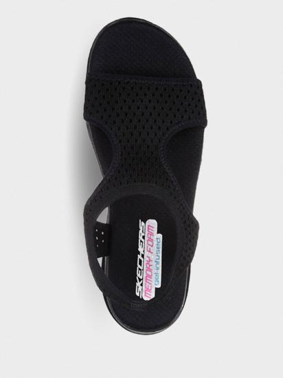 Сандалі  для жінок Skechers 31674 BLK купити взуття, 2017