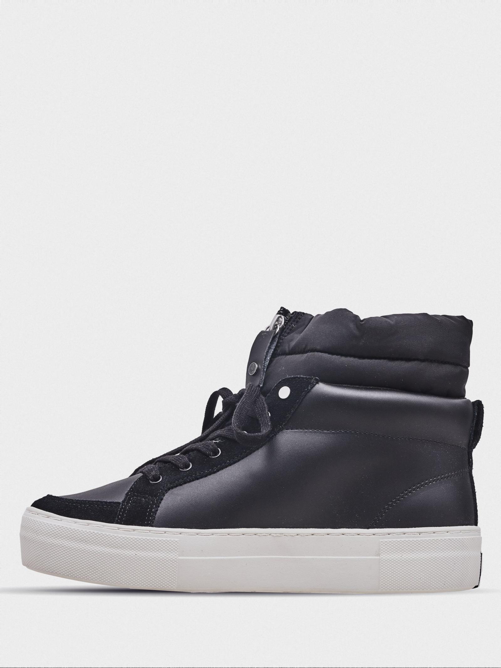 Черевики  жіночі Skechers Street 73585 BLK купити взуття, 2017