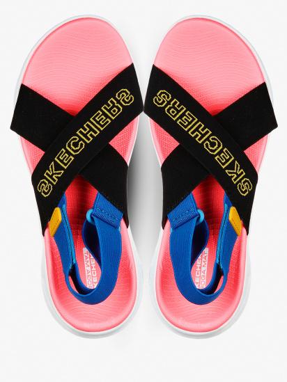 Сандалии женские Skechers On-the-Go 140023 BKMT фото, купить, 2017