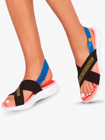 Сандалии женские Skechers On-the-Go 140023 BKMT купить, 2017