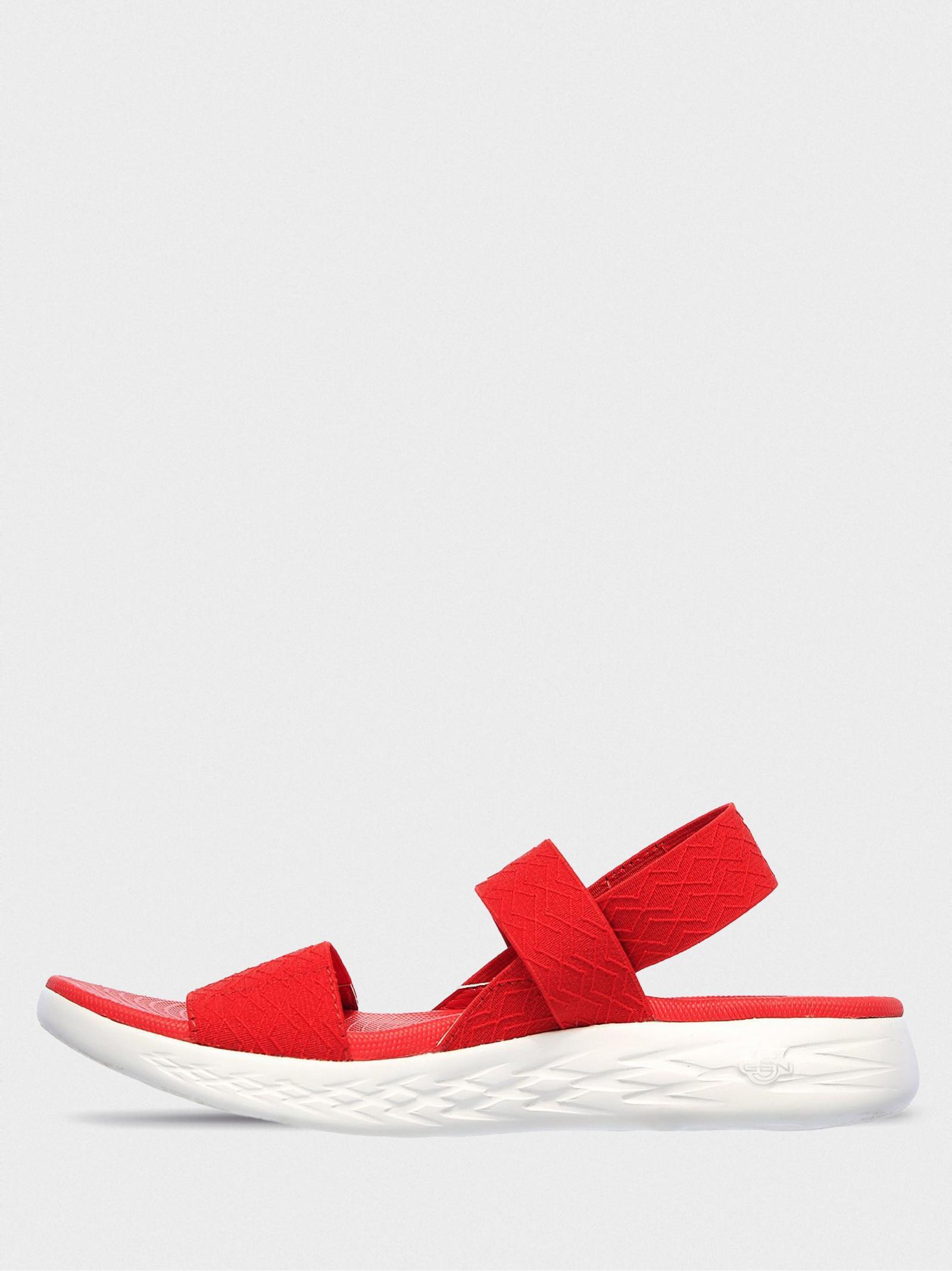 Сандалі  жіночі Skechers 140026 RED продаж, 2017