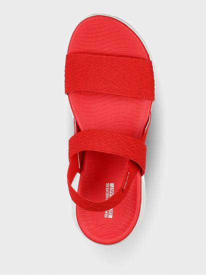 Сандалі  жіночі Skechers 140026 RED модне взуття, 2017