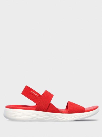 Сандалі  жіночі Skechers 140026 RED розміри взуття, 2017