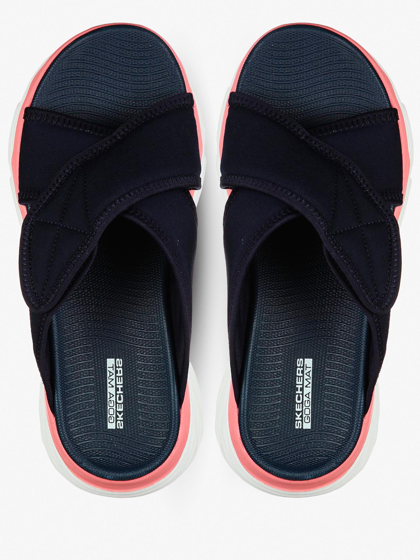 Шльопанці  жіночі Skechers On-the-Go 140127 NVY купити, 2017