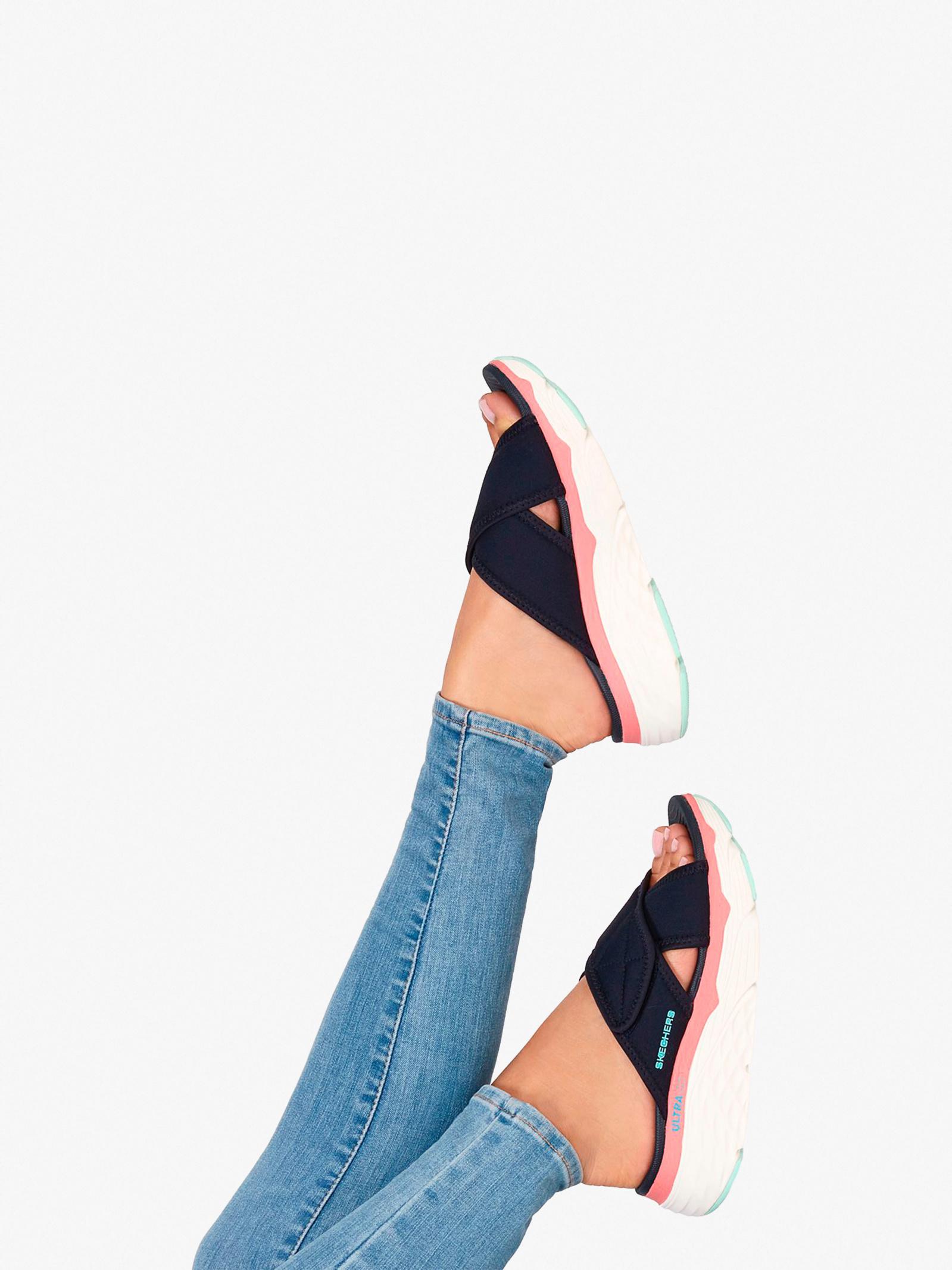Шльопанці  жіночі Skechers On-the-Go 140127 NVY ціна взуття, 2017