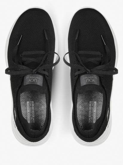 Кросівки для міста Skechers YOU Wave - Wish модель 132018 BKW — фото 5 - INTERTOP