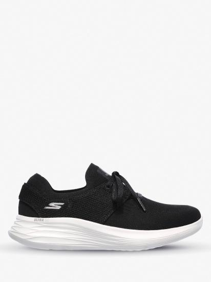 Кросівки для міста Skechers YOU Wave - Wish модель 132018 BKW — фото - INTERTOP