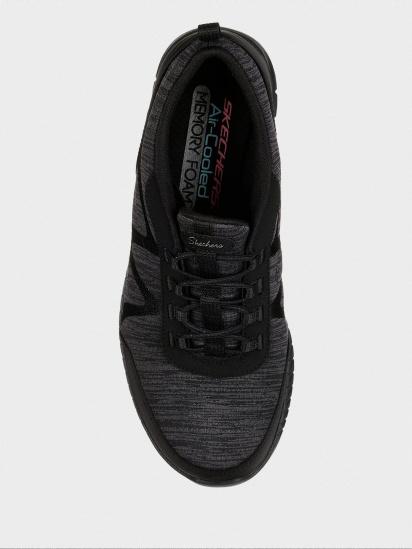 Кросівки для міста Skechers модель 23659 BBK — фото 5 - INTERTOP