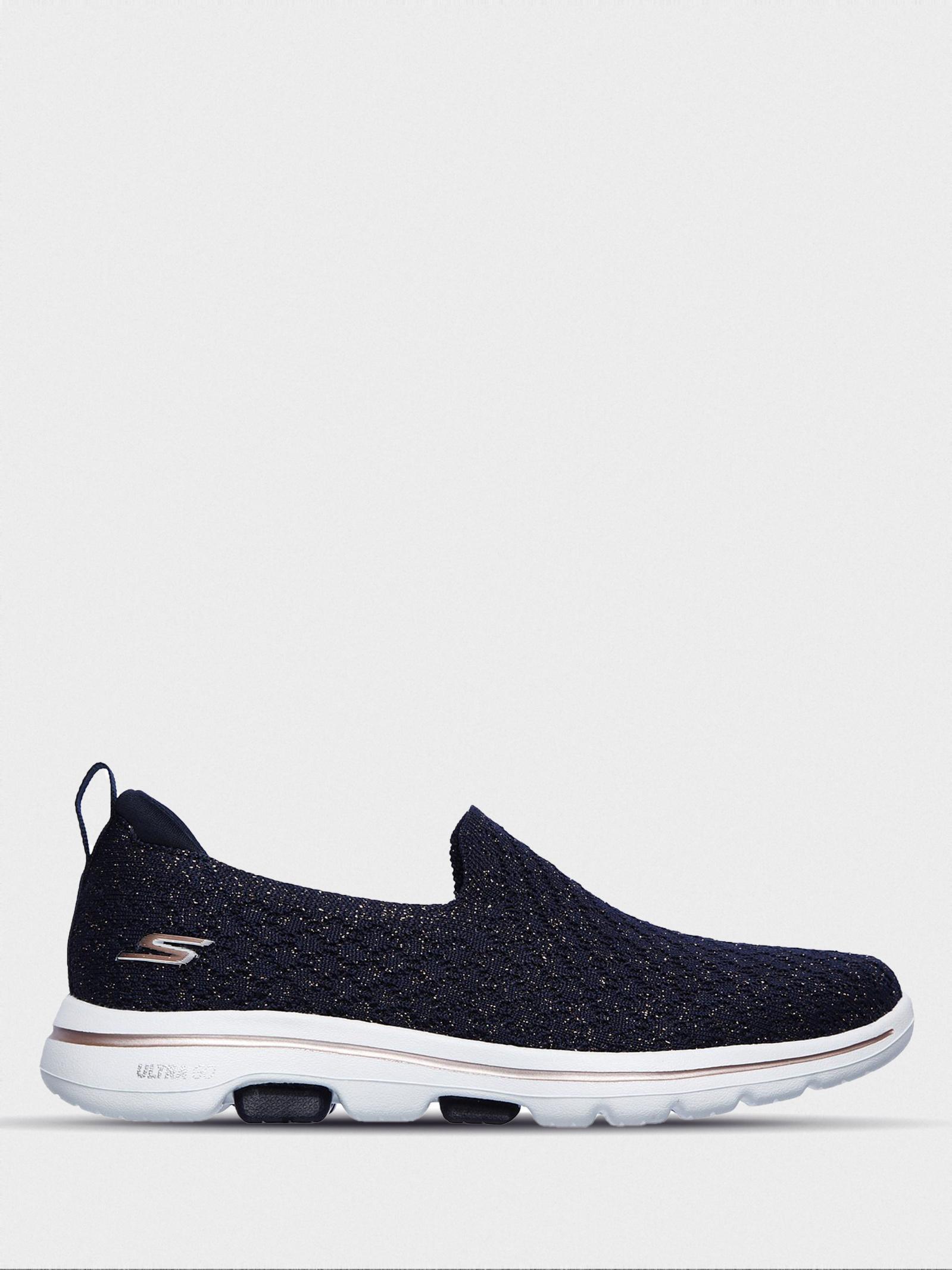 Слипоны для женщин Skechers Gowalk KW5718 брендовая обувь, 2017
