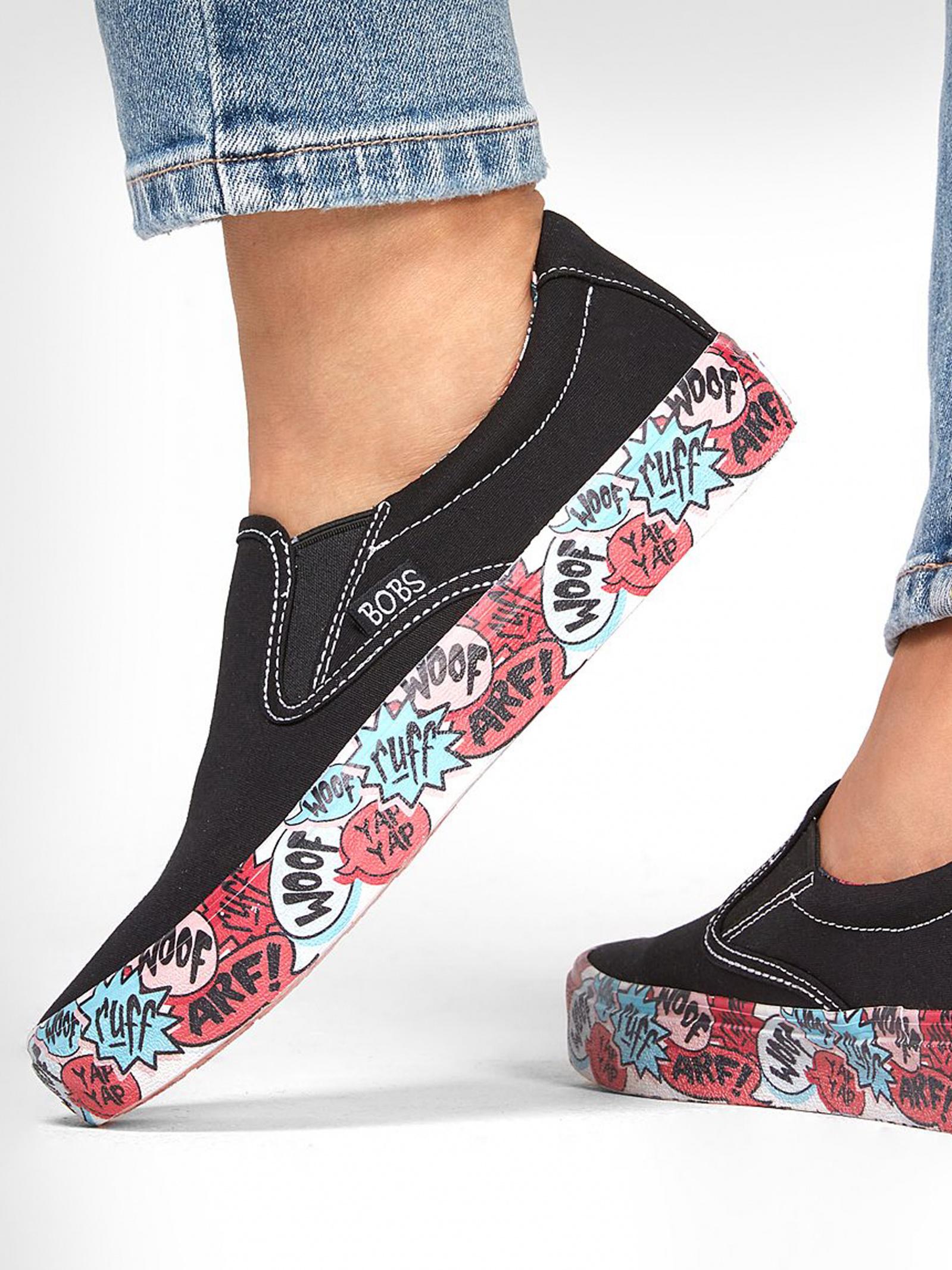 Сліпони  для жінок Skechers 113233 BLK розміри взуття, 2017