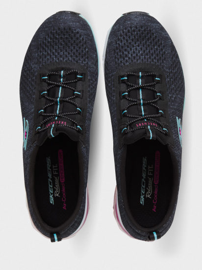 Кросівки для тренувань Skechers Relaxed Fit: Skech-Air Edge модель 104057 BKAQ — фото 4 - INTERTOP