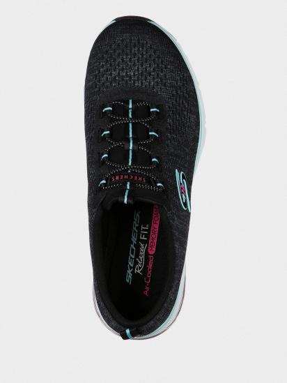 Кросівки для тренувань Skechers Relaxed Fit: Skech-Air Edge модель 104057 BKAQ — фото 5 - INTERTOP