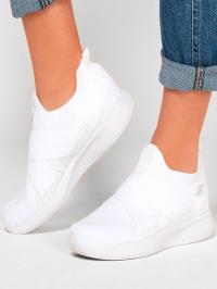 Слипоны для женщин Skechers Bob's Sport 117016 WHT модная обувь, 2017