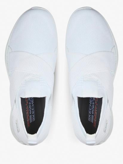 Слипоны для женщин Skechers Bob's Sport 117016 WHT брендовая обувь, 2017