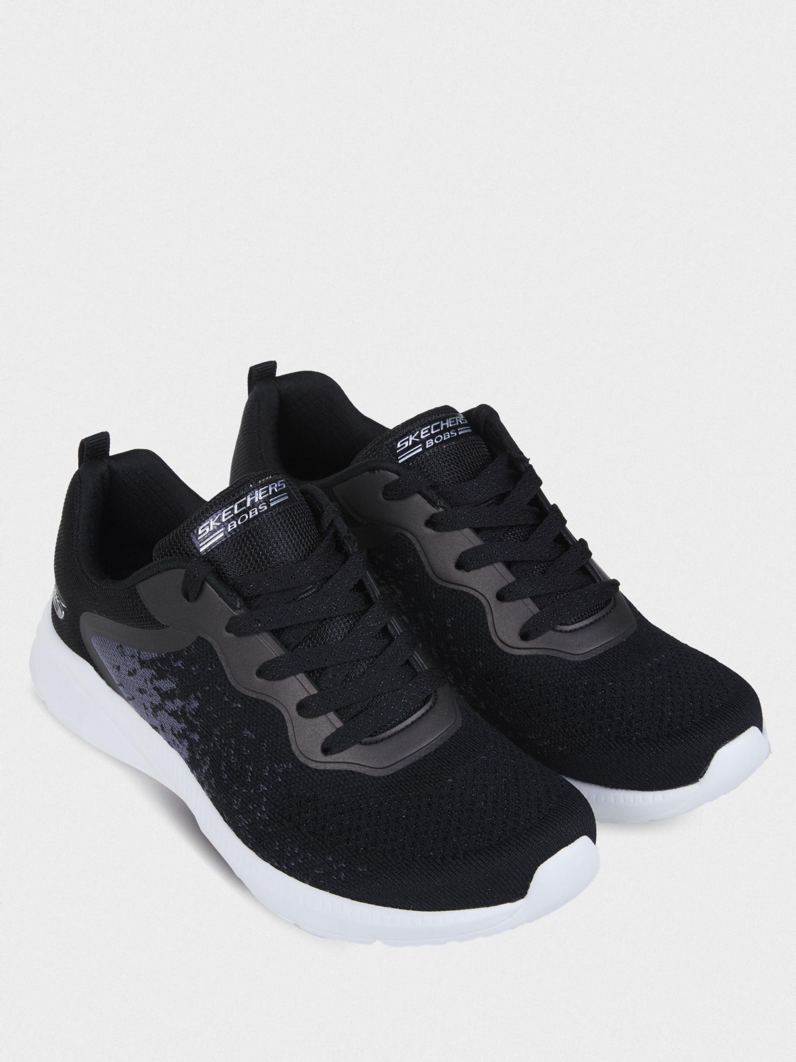 Кросівки  для жінок Skechers Bob's Sport 117010 BLK брендове взуття, 2017