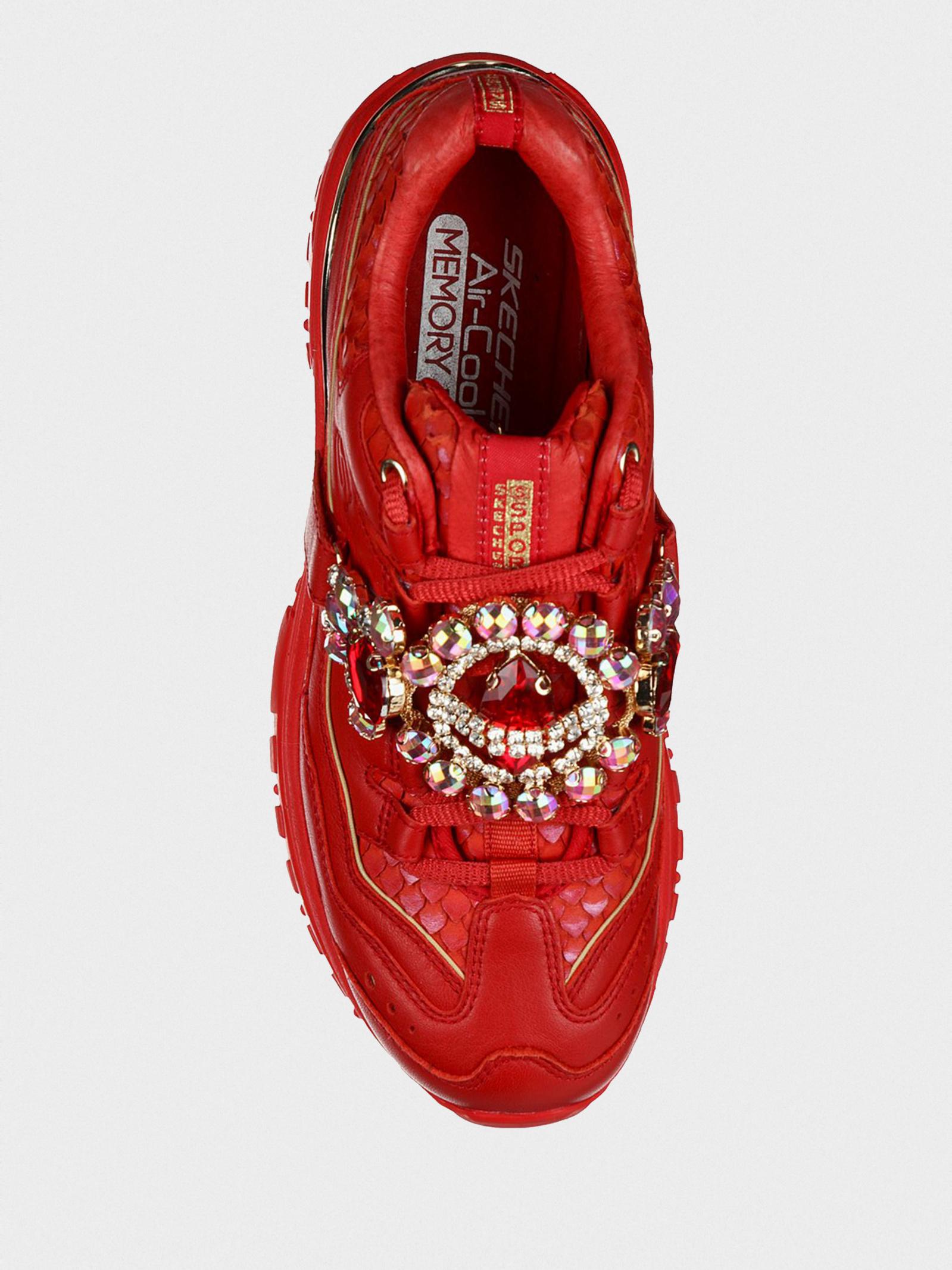 Кросівки  для жінок Skechers Heritage 149247 RED ціна взуття, 2017