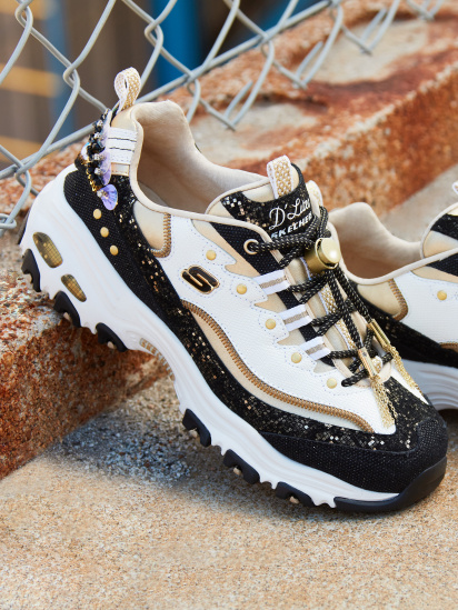 Кросівки fashion Skechers D'LITES PREMIUM HERITAGE GLAMOROUS VIEW - фото