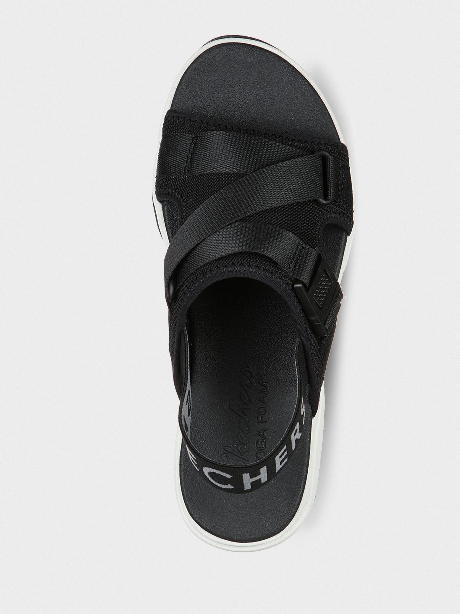 Сандалі  для жінок Skechers Modern Comfort 163051 BLK фото, купити, 2017