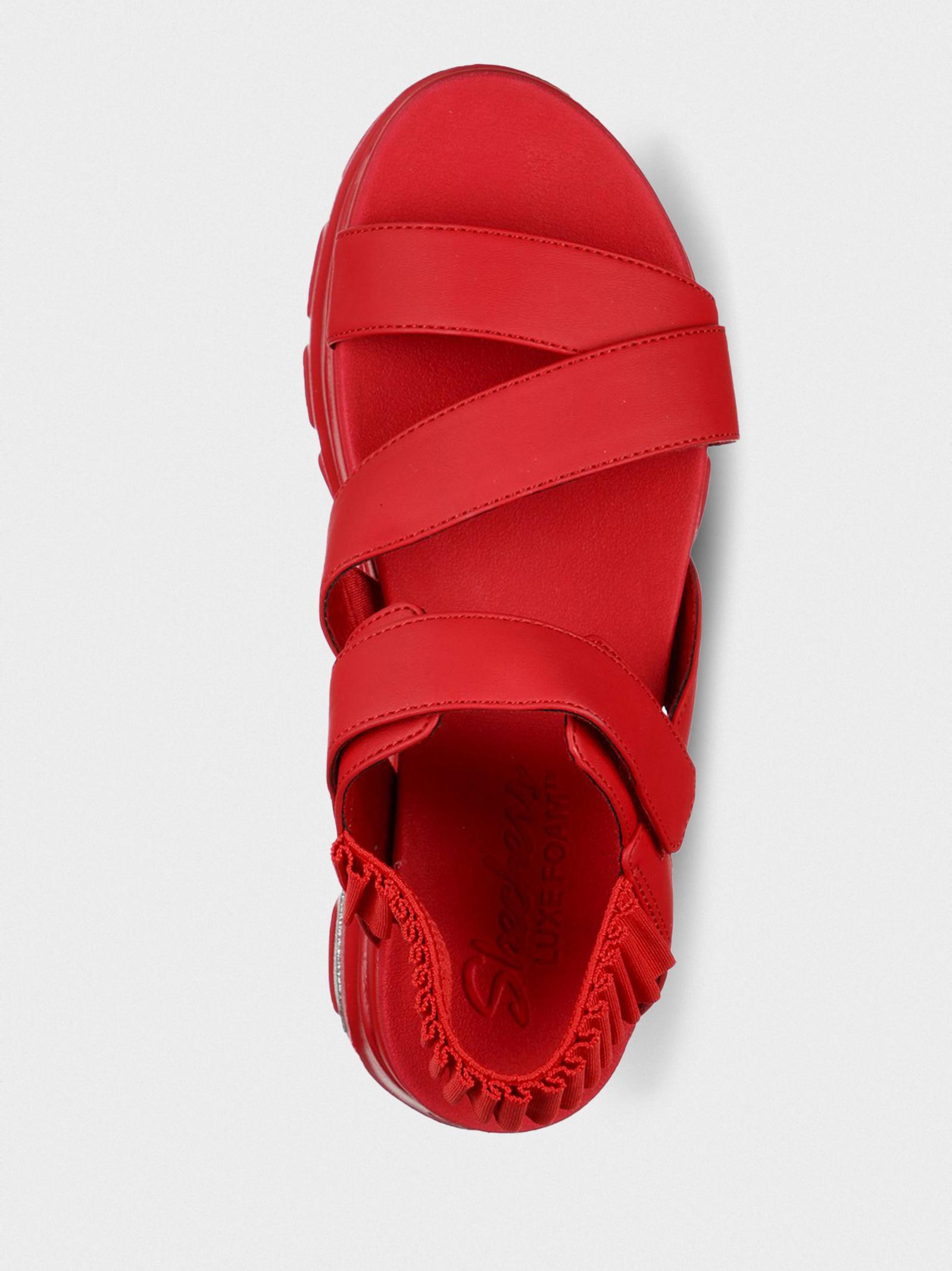 Сандалі  для жінок Skechers Cali 119110 RED в Україні, 2017