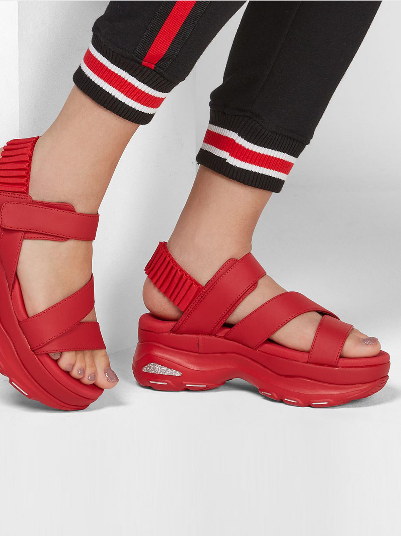 Сандалі  для жінок Skechers Cali 119110 RED купити в Iнтертоп, 2017
