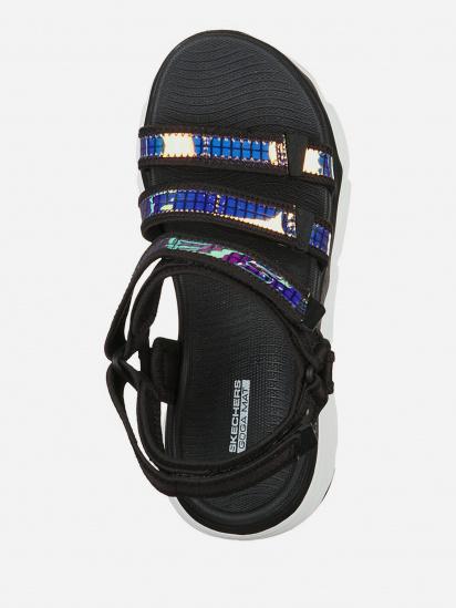 Сандалії Skechers MAX CUSHIONING - IT'S LIT модель 140126 BKW — фото 4 - INTERTOP