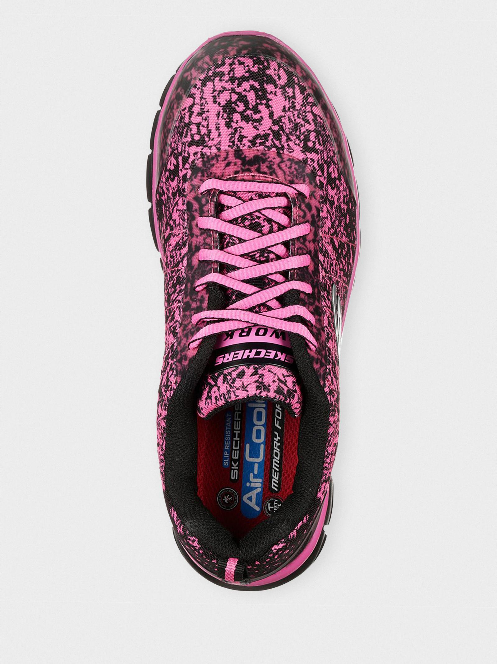 Кросівки  для жінок Skechers Work 77251BKPK дивитися, 2017