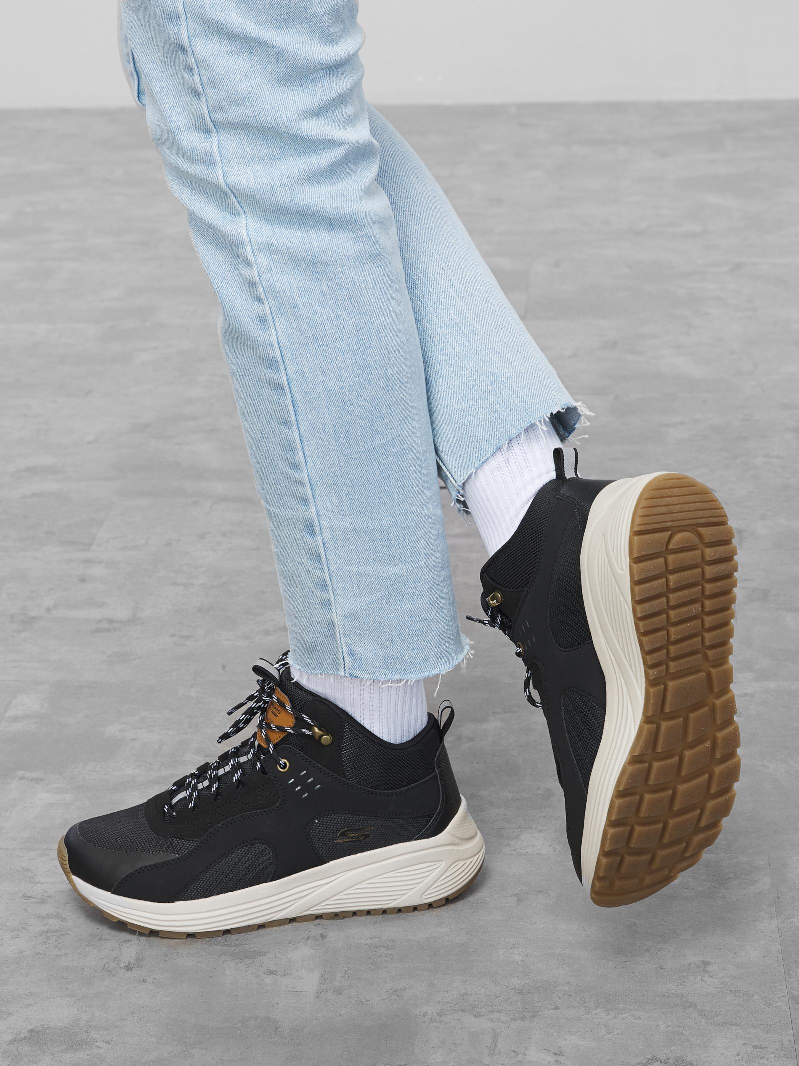 Черевики  для жінок Skechers Bob's Sport 117053 BLK модне взуття, 2017