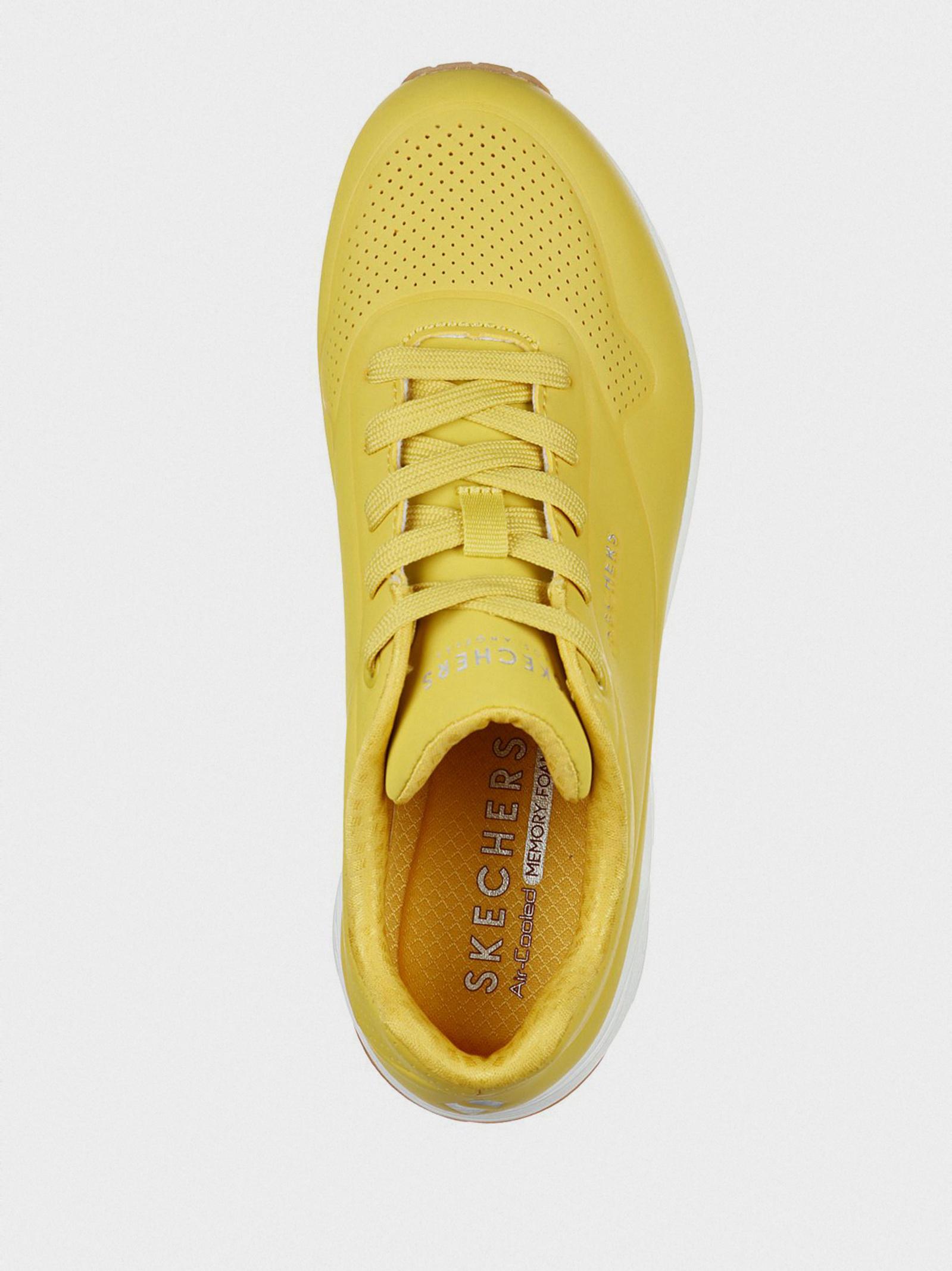 Кросівки  для жінок Skechers 73690 YLW брендове взуття, 2017