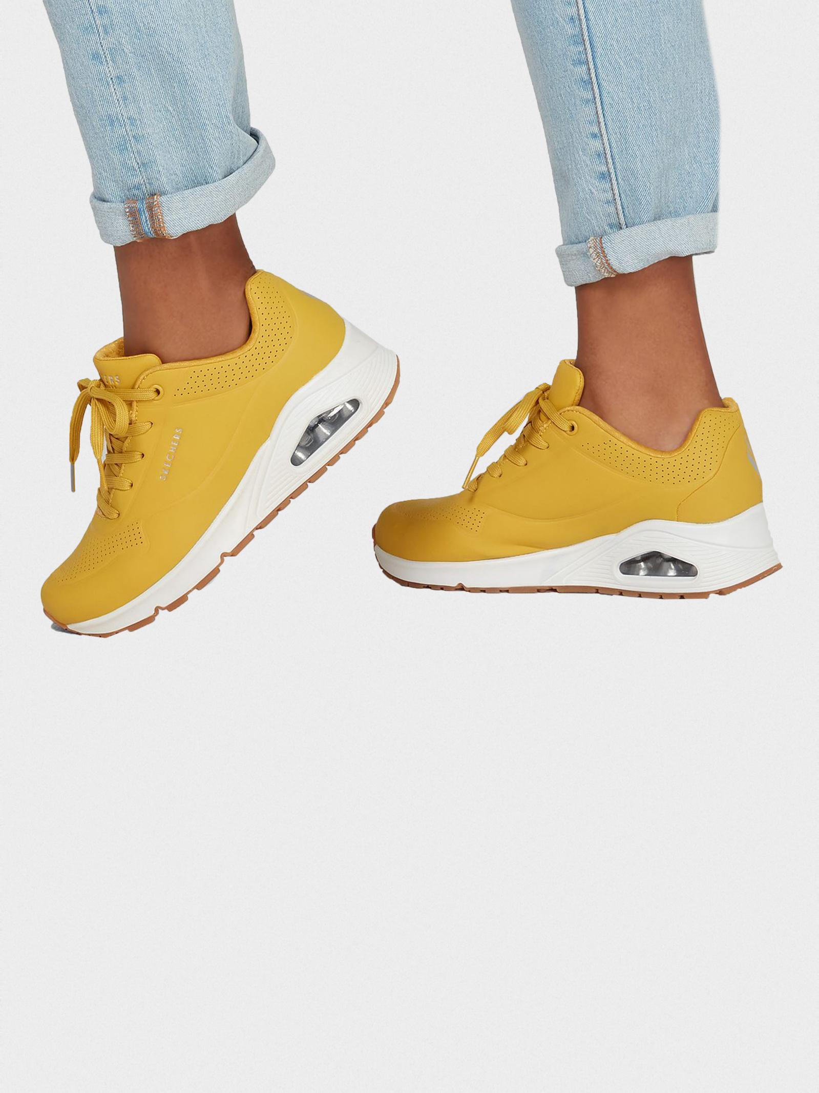Кросівки  для жінок Skechers 73690 YLW розміри взуття, 2017