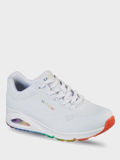 Кросівки для міста Skechers Rainbow Peaks модель 155133 WHT — фото 4 - INTERTOP
