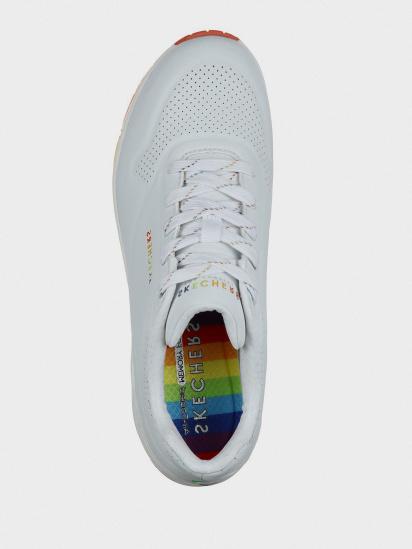 Кросівки для міста Skechers Rainbow Peaks модель 155133 WHT — фото 5 - INTERTOP