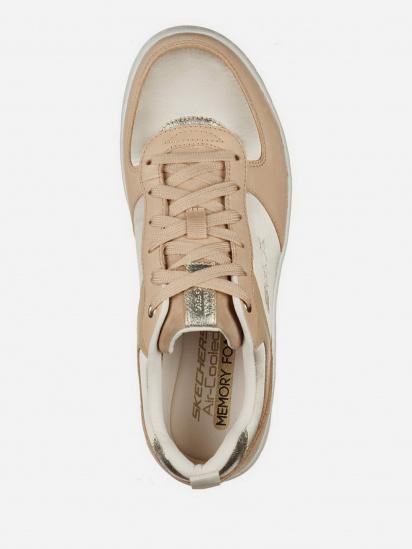 Кросівки для міста Skechers Elite Premium Sport Court 92 модель 149478 TAN — фото 4 - INTERTOP