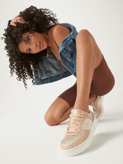 Кросівки для міста Skechers Elite Premium Sport Court 92 модель 149478 TAN — фото - INTERTOP