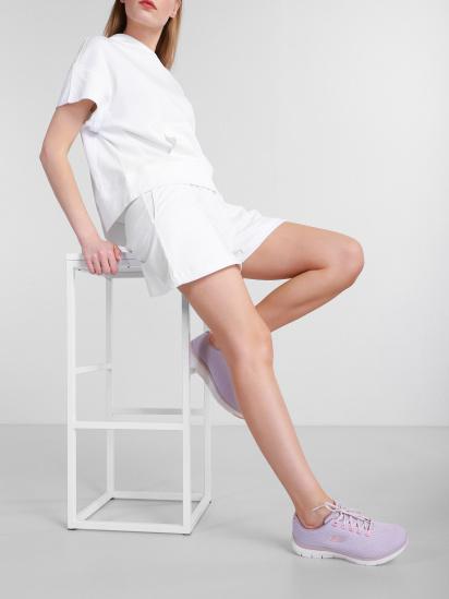 Кросівки для міста Skechers Flex Appeal 4.0 - Coated Fidelity модель 149298 ROS — фото 5 - INTERTOP