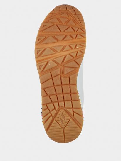 Кросівки для міста Skechers x JGoldcrown: Uno модель 155506 WHT — фото 3 - INTERTOP