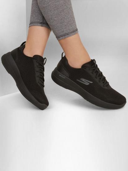 Кросівки для тренувань Skechers GOwalk Stability - Magnificent Glow модель 124602 BBK — фото 6 - INTERTOP