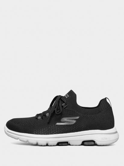 Кросівки для тренувань Skechers GOwalk 5 – Uprise модель 124010 BKW — фото 2 - INTERTOP